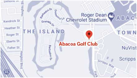 Abacoa Golf Club Map